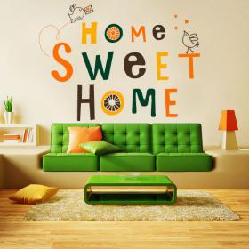 Vinilo Decorativo y Pegatina Home Sweet Home
