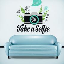 Vinilos Decorativos Stickers Take a Selfie
