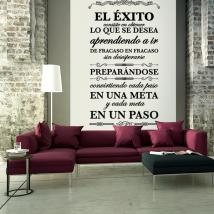 Vinilos Decorativos Citas y Frases El Éxito