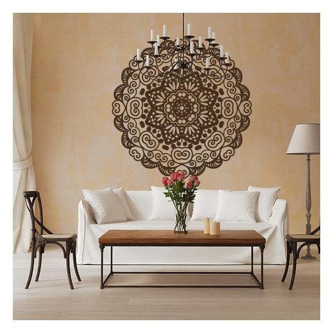 pegatinas decoracin paredes mandala