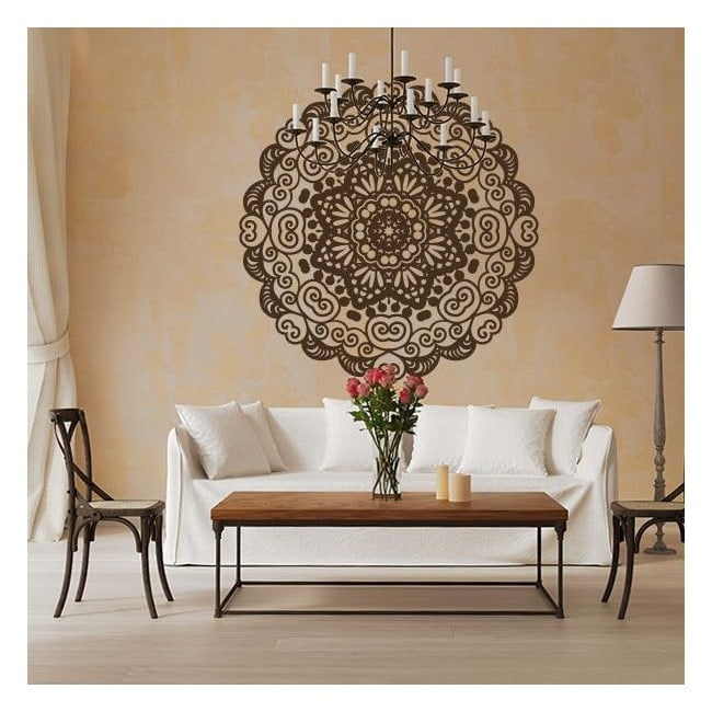 pegatinas decoracin paredes mandala - Decoracion Paredes