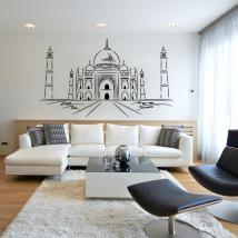 Vinilos Decorativos Taj Mahal