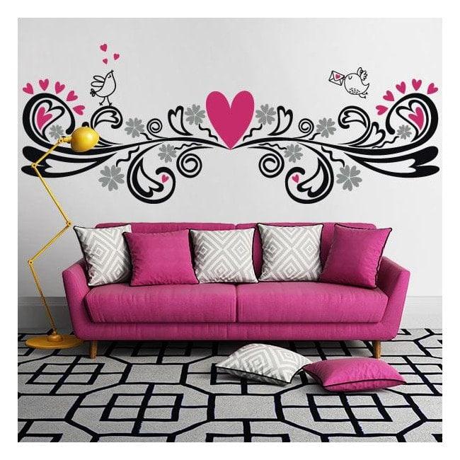 Vinilos decorativos paredes con un toque de amor - Vinilos de amor ...