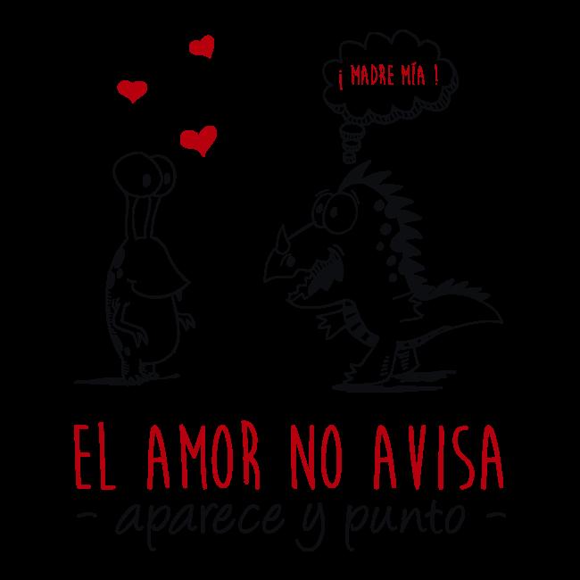 Vinilo decorativo el amor no avisa aparece y punto - Vinilos de amor ...