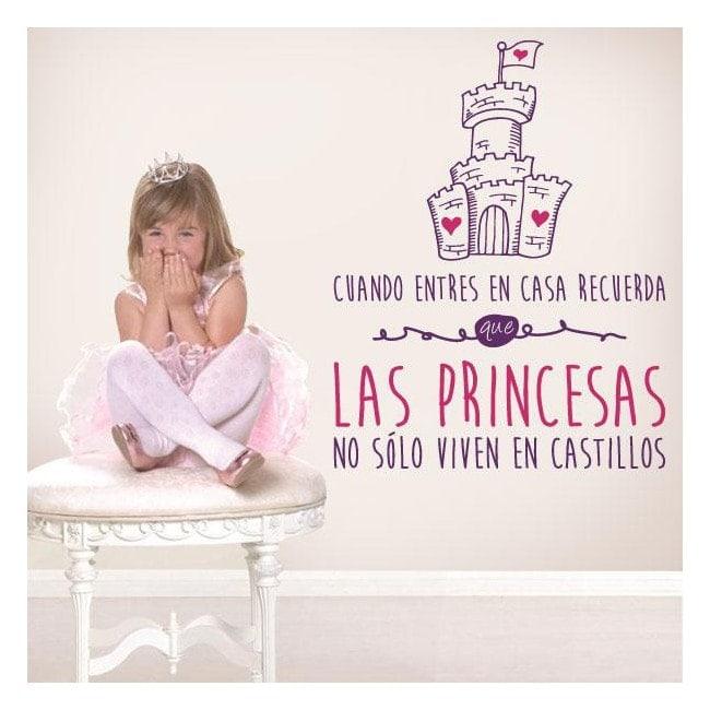Vinilos Decorativos Frases Princesas