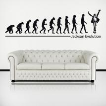 Vinilos Decorativos Michael Jackson Evolution