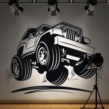 Vinilo Decorativo Jeep