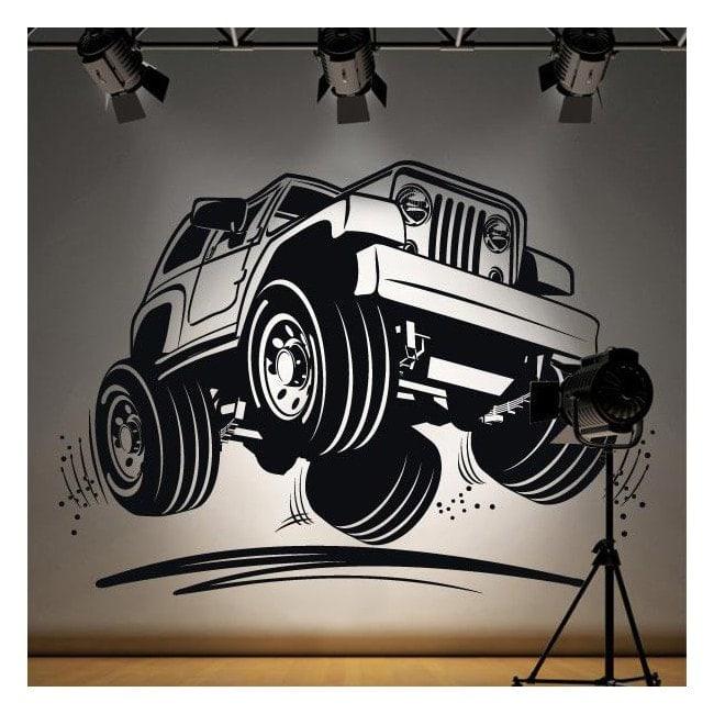 Vinilo Decorativo Jeep