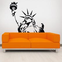 Vinilos Decorativos Estatua De La Libertad