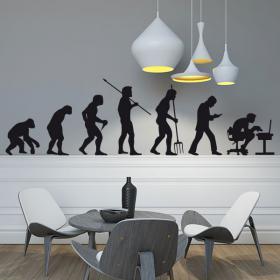 Vinilo Decorativo Evolución
