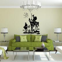 Vinilos Decorativos Don Quijote De Pablo Picasso