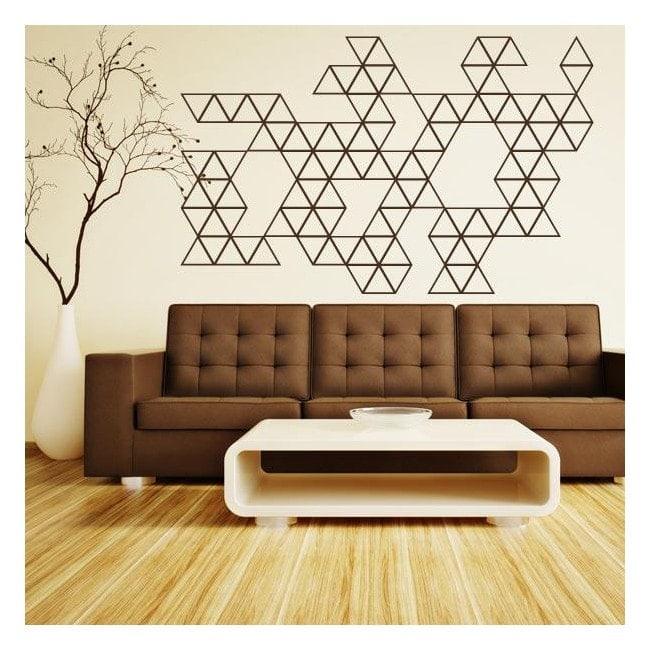 Vinilos Decorativos Decoración Triángulos