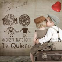Vinilos Decorativos Frases Románticas Te Quiero