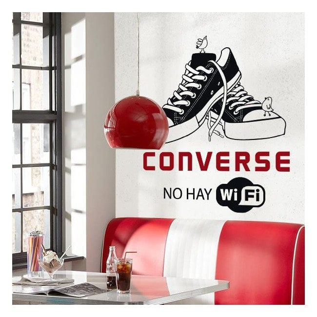 Vinilo decorativo no hay wifi