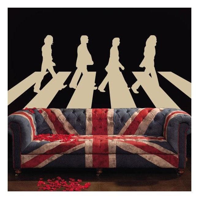 Vinilo Decorativo The Beatles Abbey Road