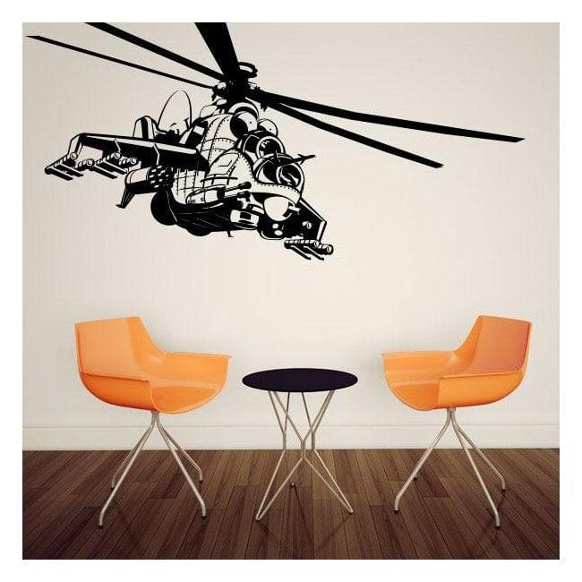 Vinilos Decorativos Helicóptero