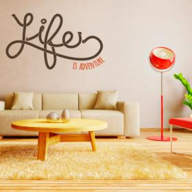 Vinilos Life Is Adventure