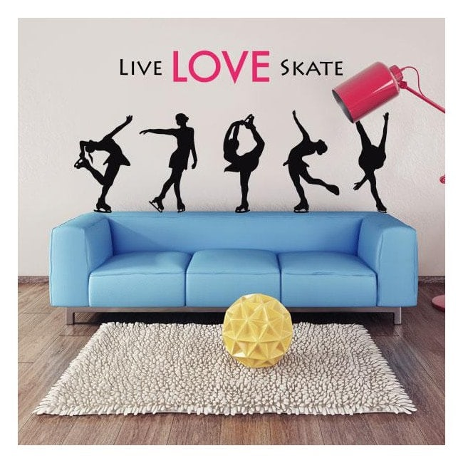 Vinilos Live Love Skate
