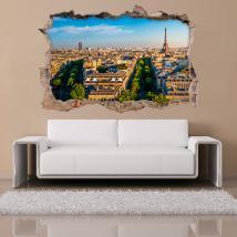 Vinilos 3D París Ciudad