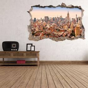 Vinilos 3D New York Ciudad