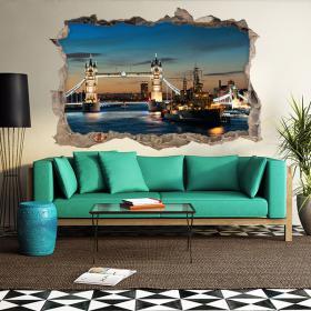 Vinilos 3D Tower Bridge London