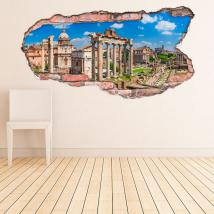 Vinilos 3D Roma Italia
