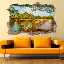 Vinilo 3D Pared Ancient City