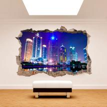 Vinilos 3D Pared Shanghai China