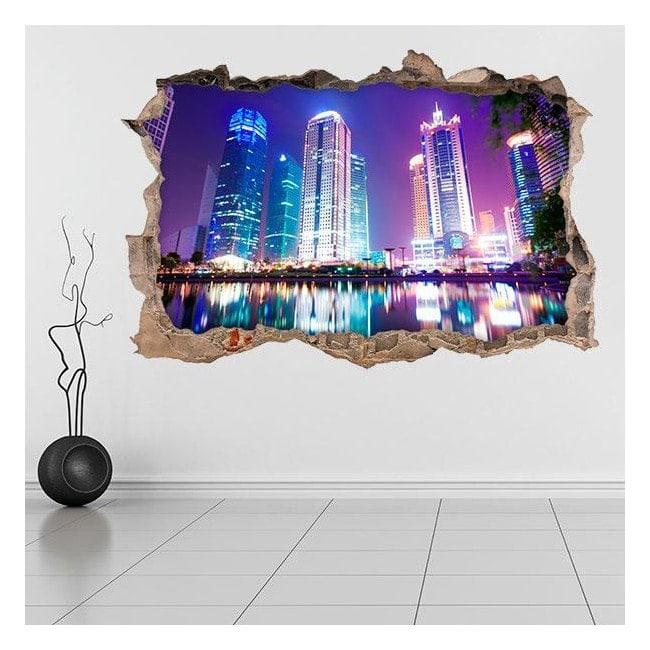Vinilos 3D Shanghai China