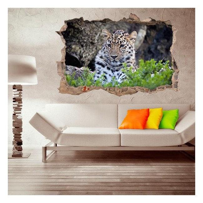 Vinilo 3D Jaguar
