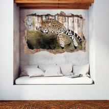 Vinilos 3D Paredes Jaguar
