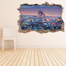 Vinilo 3D Barcelona