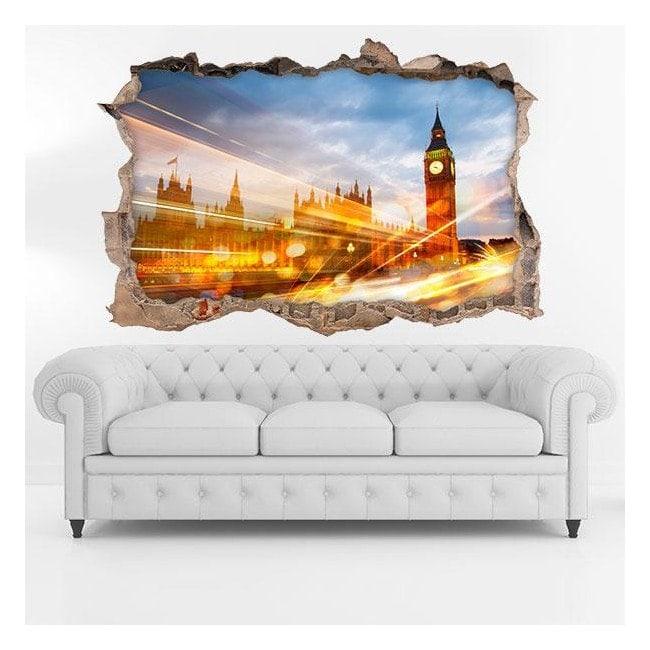 Vinilo 3D London City