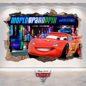 Pegatina Disney Cars 2