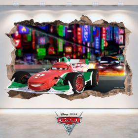 Vinilos Disney 3D Cars 2