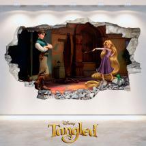 Pegatinas Disney Tangled Enredados 3D