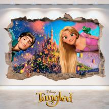 Vinilos 3D Disney Tangled Enredados