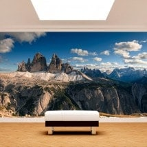 Fotomurales Montañas Alpes