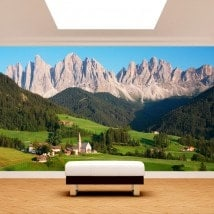 Fotomurales Dolomites Montañas Italia