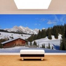 Fotomurales Montañas Alpes De Siusi Italia