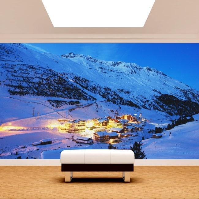 Fotomurales Montañas Alpes Austria