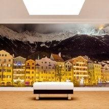 Fotomurales Innsbruck Austria De Noche