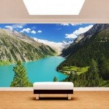 Fotomurales Lago Zillertal Austria