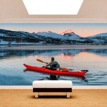 Fotomural Kayak En El Lago