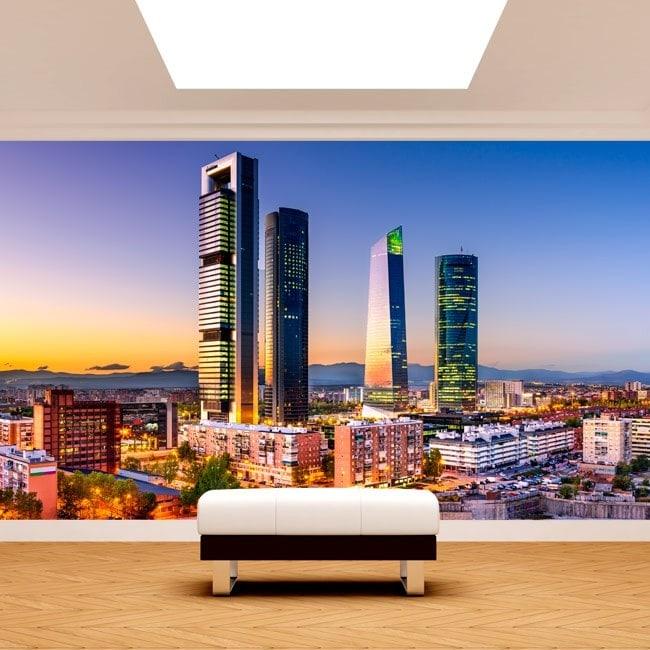 Fotomurales Madrid Ciudad Financiera