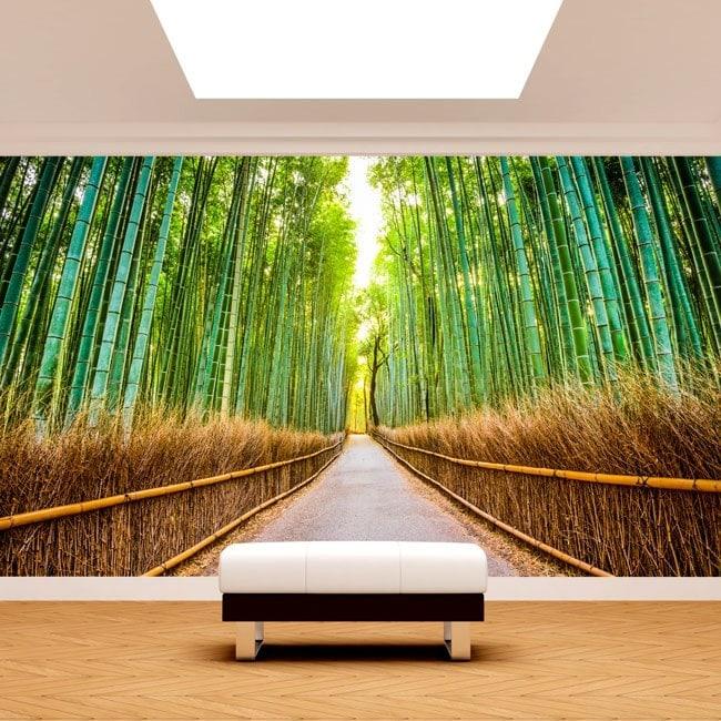 Fotomurales Carretera Y Bambúes