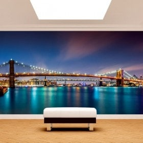 Fotomurales Puente De Brooklyn New York