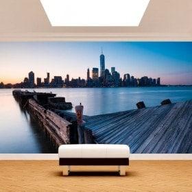 Fotomurales Edificios Manhattan