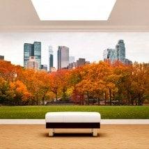 Fotomurales Paredes Central Park Nueva York