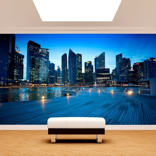 Fotomurales Singapur Ciudad